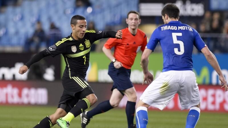 España Italia amistoso FIFA