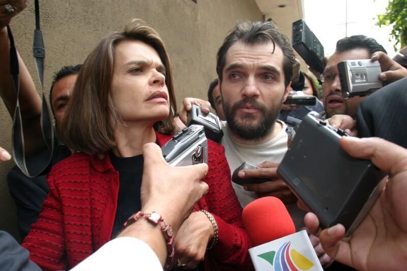 Cecilia Gurza y Carlos Ahumada