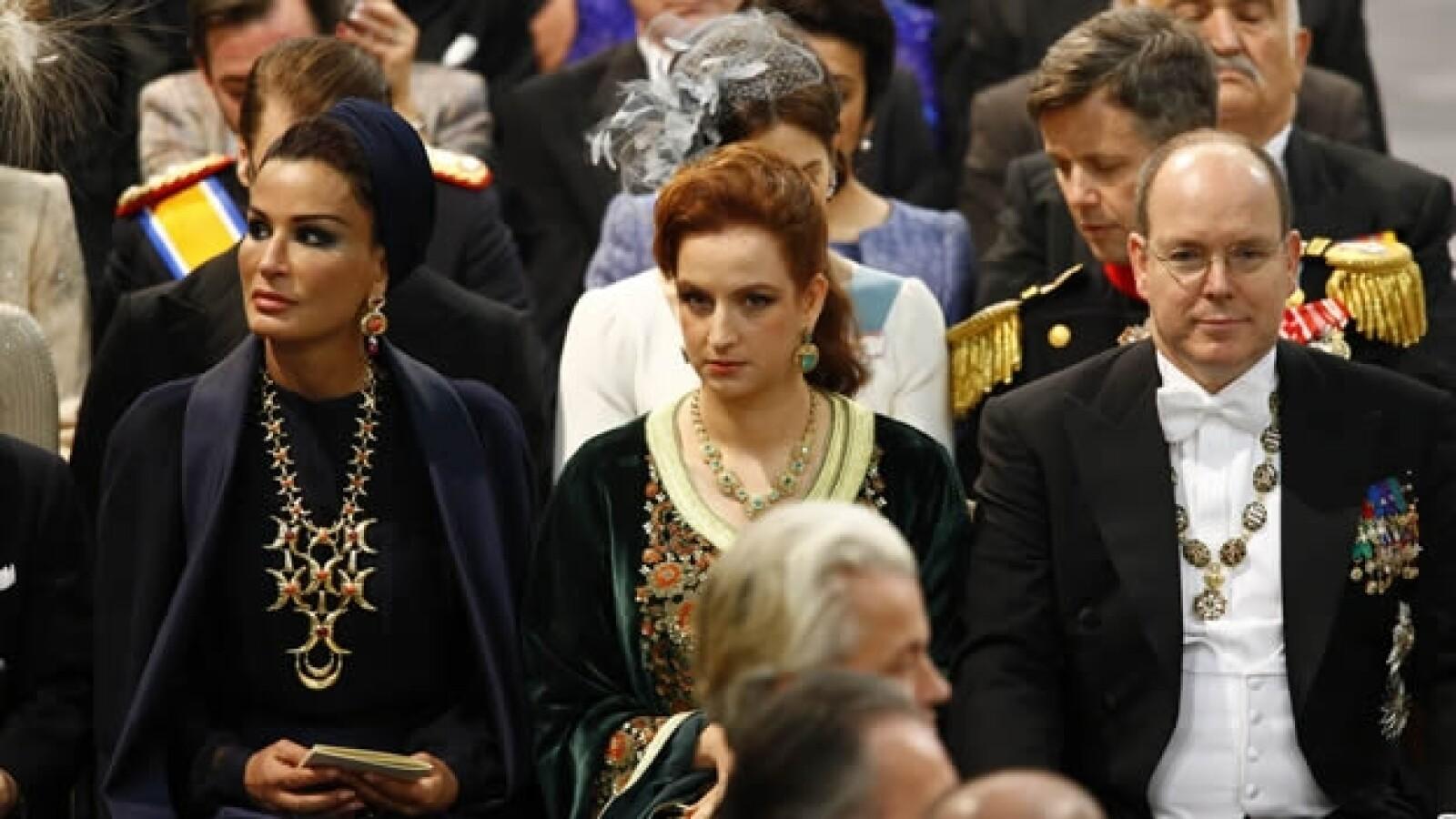 Jequesa Catar Moza bin Nasser princesa Lalla Salmala Marruecos principe Alberto Monaco