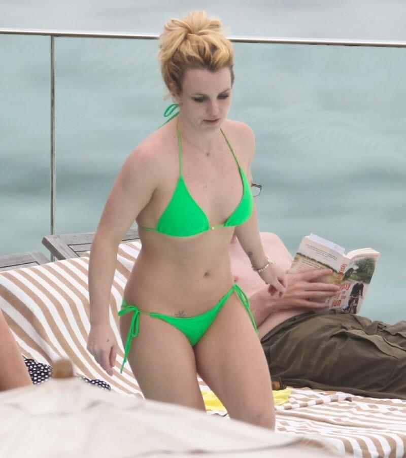 Después de haber vivido momentos complicados con su peso, Britney ha recuperado su figura.