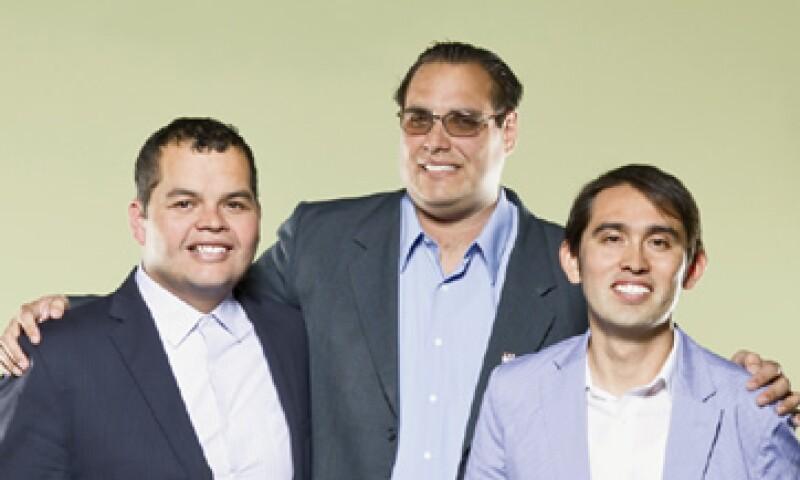 Agustín González, José Luis Sánchez Piña y Eduardo Durazo, quieren revolucionar la industria energética con Genesis Ventures. (Foto: Duilio Rodríguez)