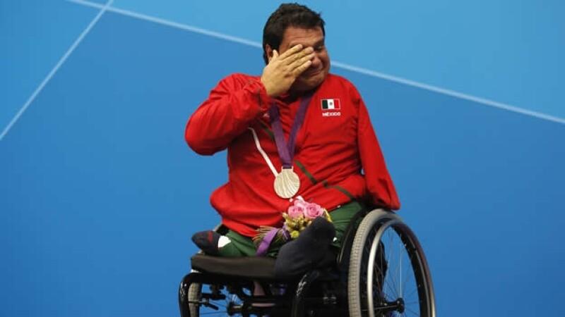 castorena paralimpicos londres 2012 natacion