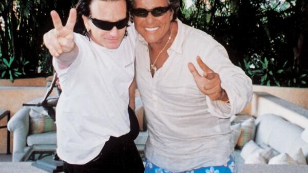 Bono con Jaime Camil papá