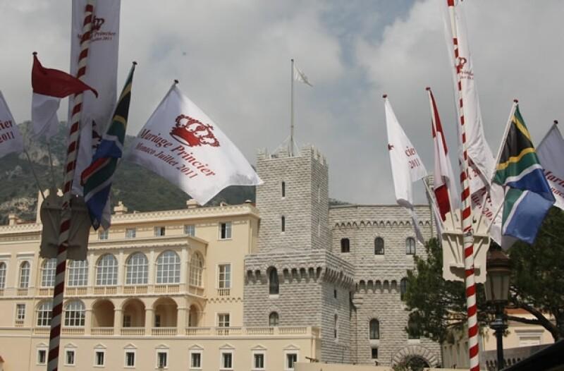 La boda del príncipe Alberto y Charlene se llevará a cabo en el Palacio real de Mónaco.