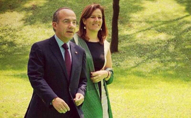 Felipe Calderón y Margarita Zavala ya están con un pie en Bostón.