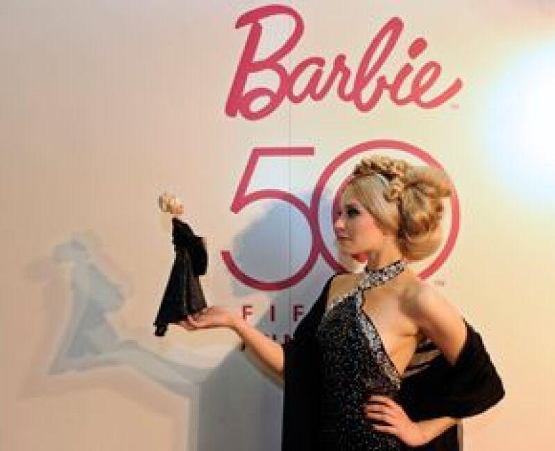 Barbie nació el 9 de marzo de 1959.