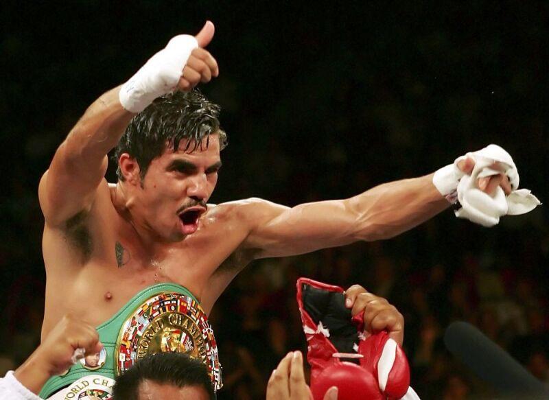 Omar Niño pugilista mexicano