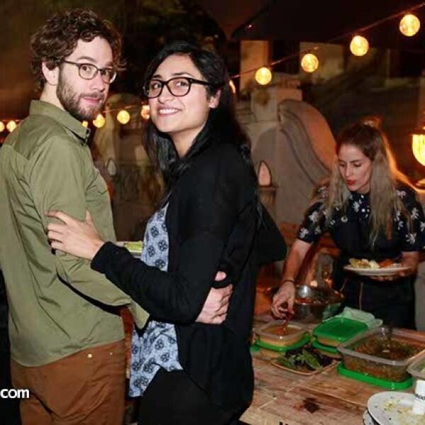 Marc Biehle y Viridiana Chacon