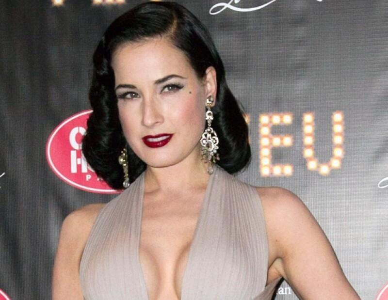 La artista de burlesque estuvo casada con el cantante Marilyn Manson.