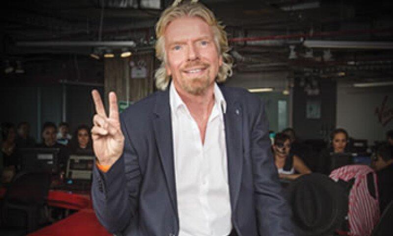 El empresario británico visitó en noviembre las oficinas de Virgin Atlanic en México. (Foto: Tito Trueba / Revista Quién)
