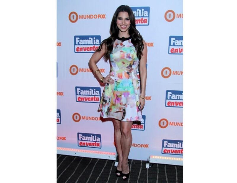 Roselyn Sánchez visitó México por un día para promocionar su nueva serie.
