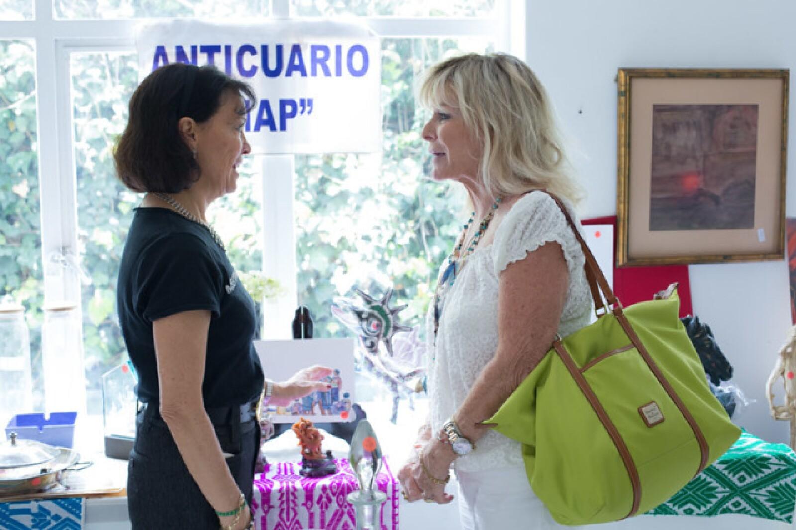 Cecilia Moctezuma y Stephanie Fastlicht