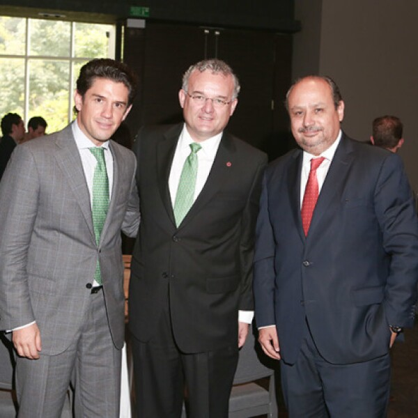 Alejandro Irarragorri,Diego Cosio y Ernesto M. Hernández