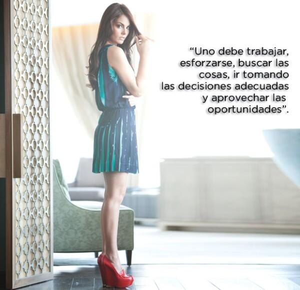 Después de impresionar al mundo en 2010, para Ximena Navarrete se han presentado muchas oportunidades muy interesantes.