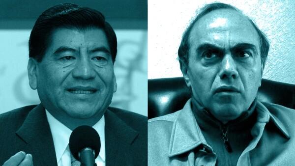 Mario Marín y Kamel Nacif