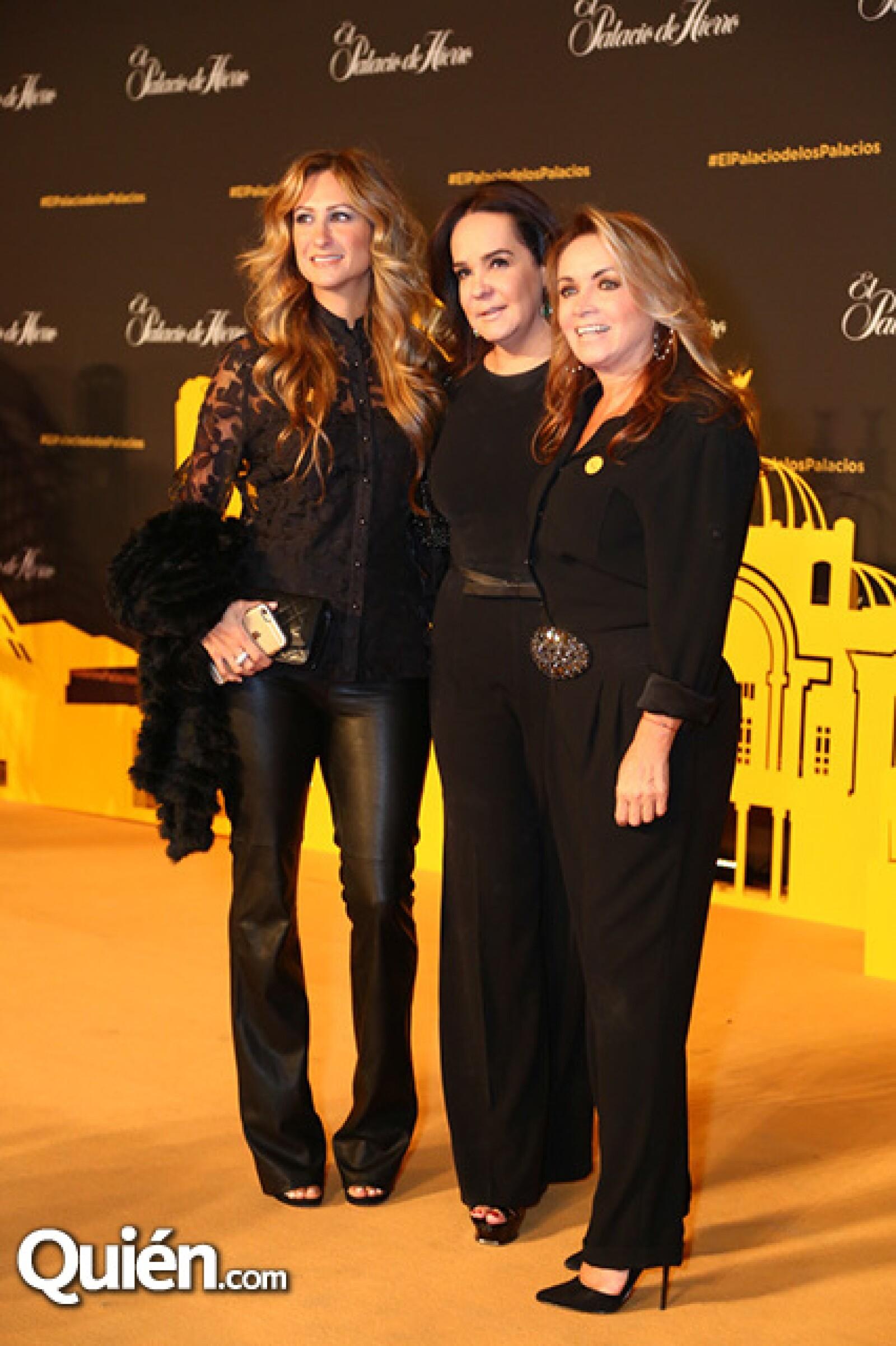 Pixie Deblyn,Margarita Pérez Cuellar y Rosaura Henkel