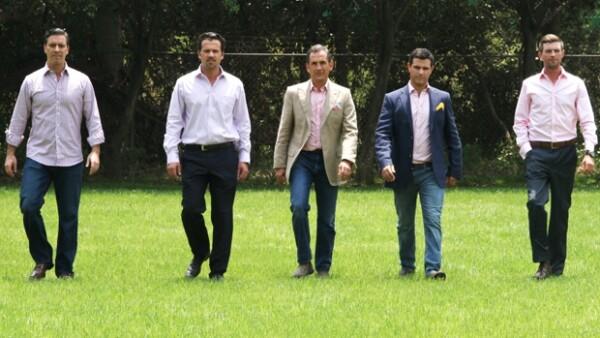Francisco Pasquel, Marcelo Galán Pizzuto y Rodrigo Lambres participan en el Grand Prix by Thomas Pink de polo, realizado del 2 al 5 de mayo en el Rancho Avándaro.