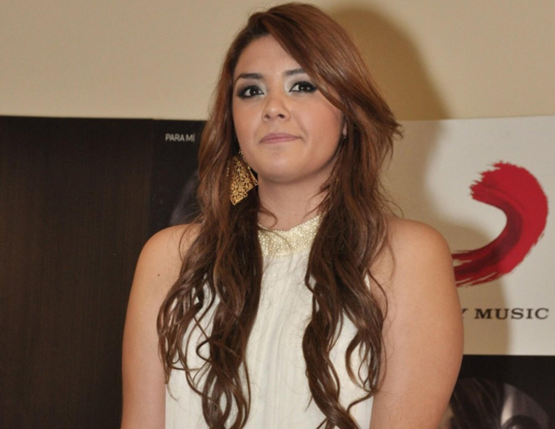 La cantante comparó la trama de la exitosa cinta, con lo que le sucedió cuando participó en el reality musical de TV Azteca, `La Academia´.