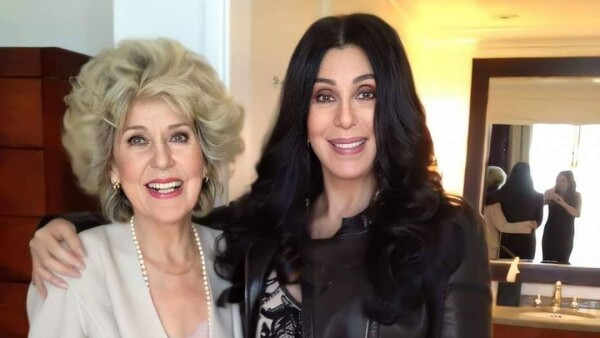 Georgina Holt y Cher.