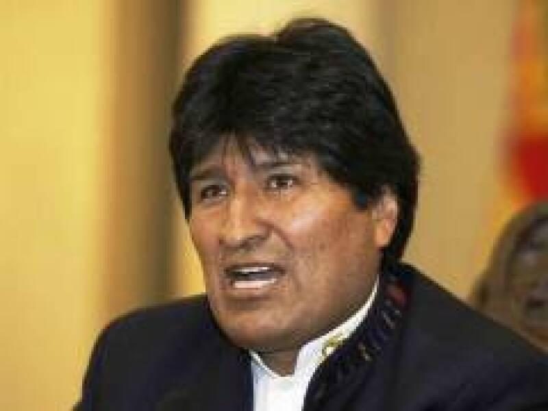 El presidente de Bolivia busca la aprobación de una ley crucial (Reuters)