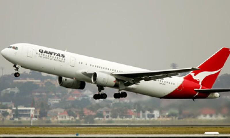 Qantas suspendió sus vuelos a nivel mundial debido a la huelga de sus trabajadores. (Foto: AP)
