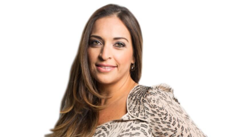 """""""Hay que aprender a tomar las oportunidades"""", dice Denisse Guerra Martínez, una de las 30 promesas en los 30 de la edición 2013 de la revista Expansión. (Foto: Dayán Jiménez/Jorge Garaiz)"""