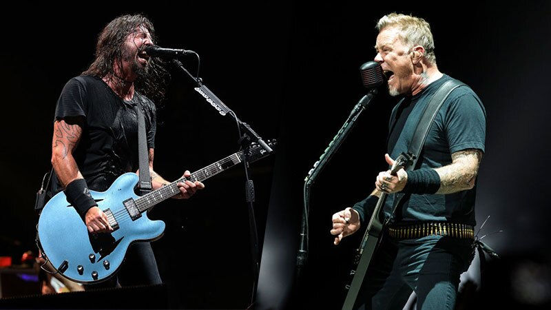 Metallica y Foo Fighters tienen documentales en Netflix