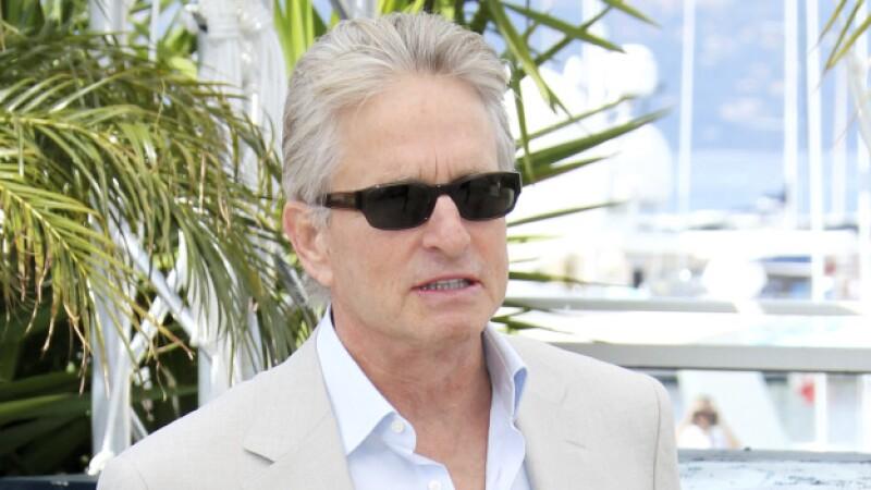 Michael Douglas presentó su nueva película en el festival de Cannes