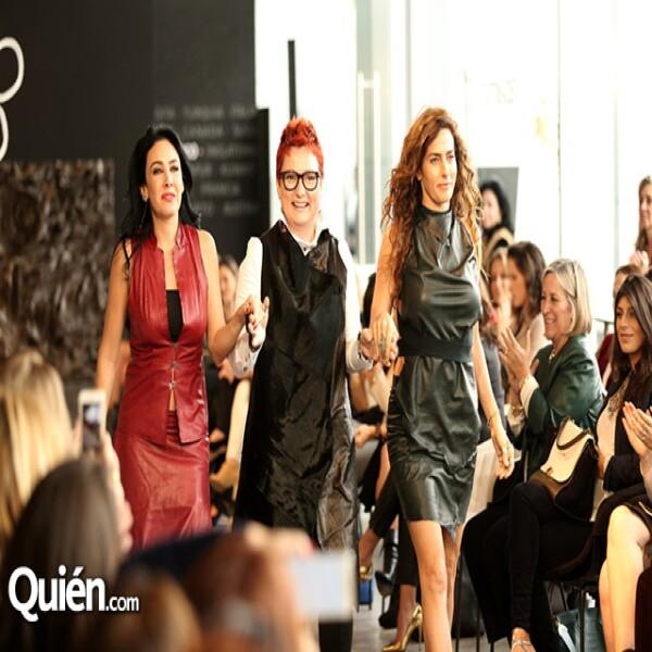 Ana Laura Salinas, Nilgun Gulen y Paola Saad