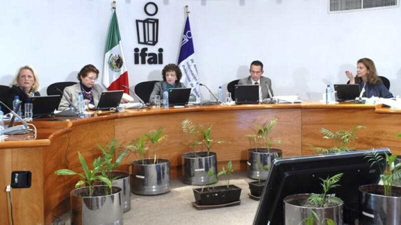 Sesión del IFAI