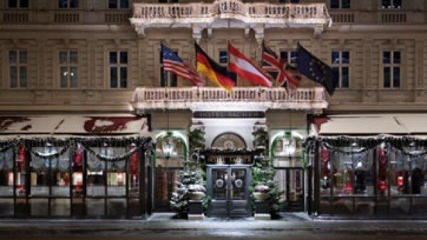 El Hotel Sacher en Austria es uno de los que más lucen en esta época. (Foto: Sacher/Cortesía)