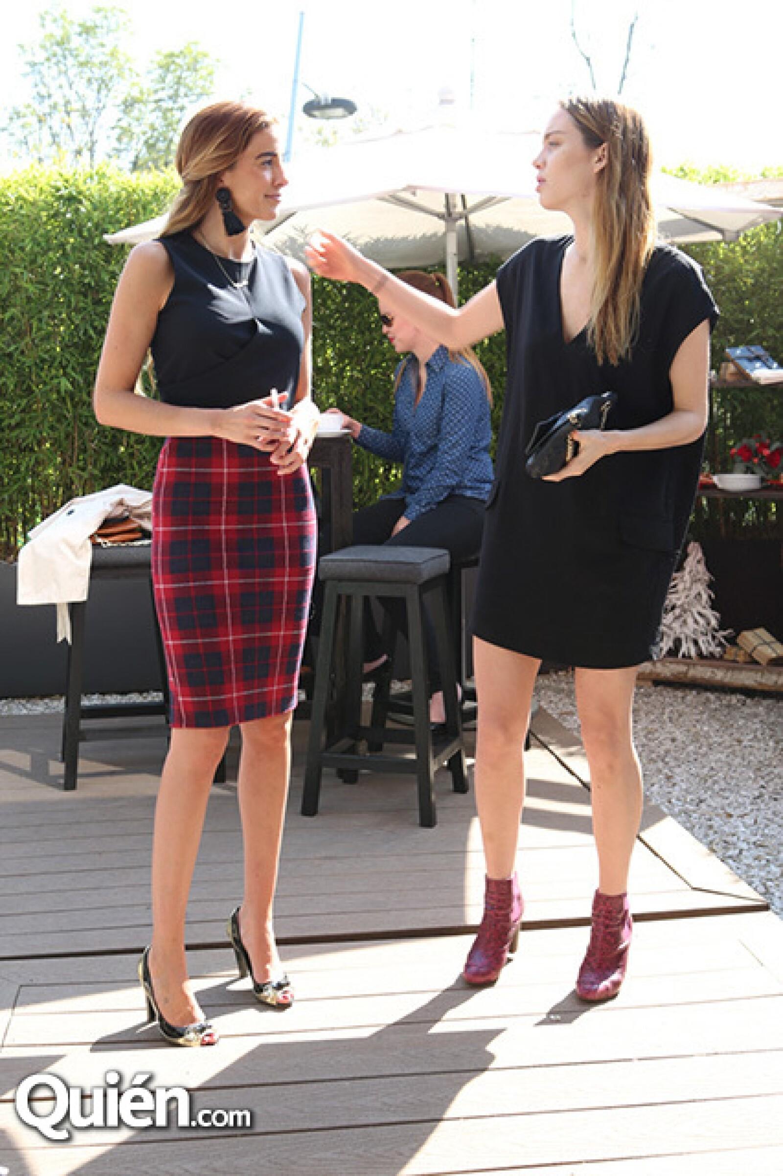 Karla Rojo de la Vega y Erika Batis