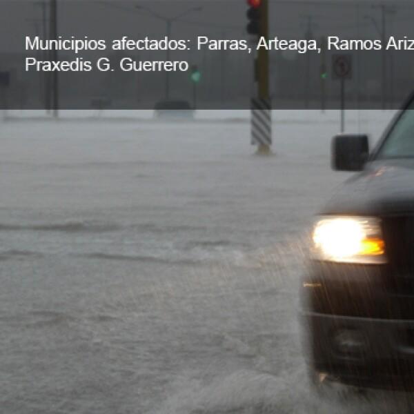 coahuila inundaciones