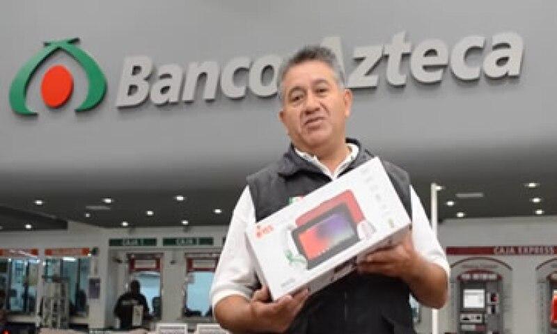 Banco Azteca registró una caída de 11% en sus ingresos. (Foto: tomada de bancoazteca.com.mx)