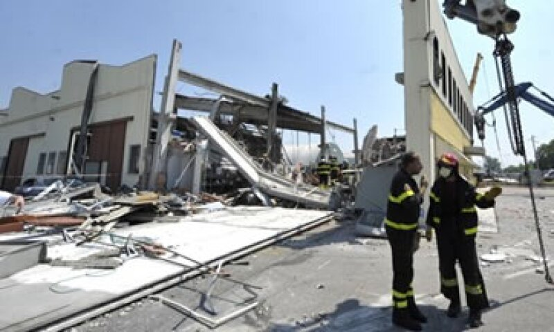 El terremoto en Italia destruyó cientos de edificios y obligó a más de 7000 personas a dormir en tiendas de campaña. (Foto: AP)