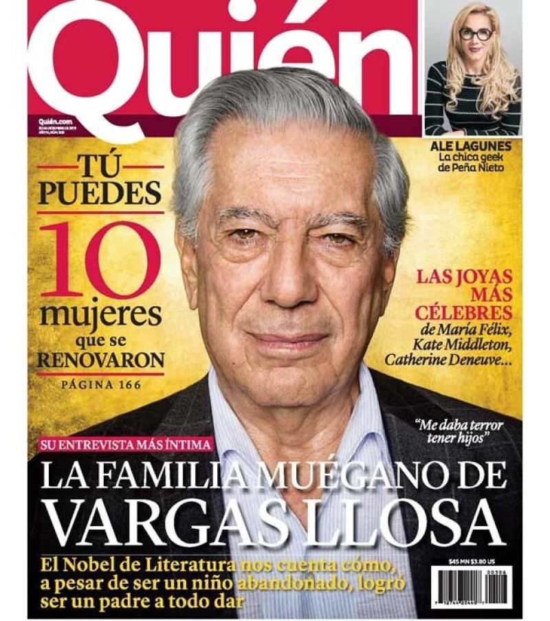 Mario Vargas Llosa abrió su corazón y habló de lo importante que es su familia.