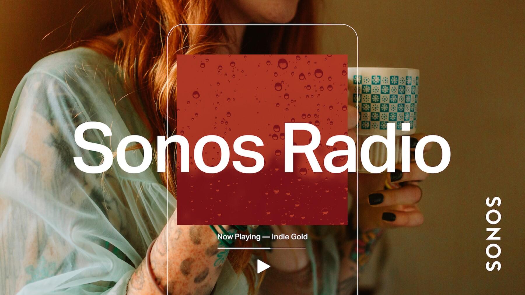 Sonos lanza Sonos Radio a nivel global