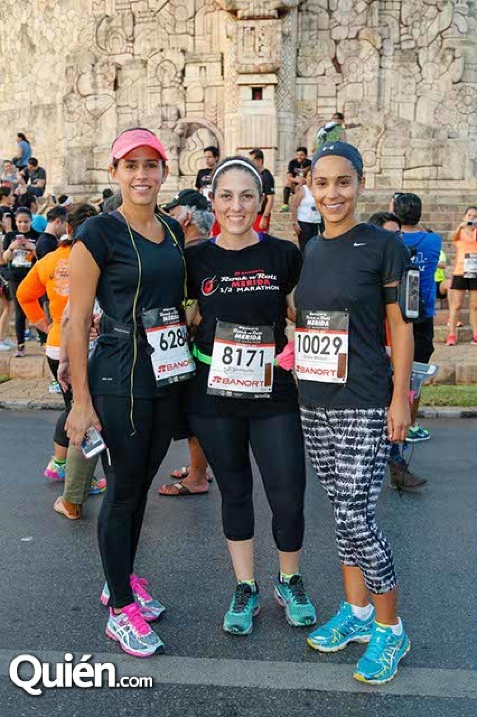 Elizabeth González,Sonia Villalpando y Daniela Munch.