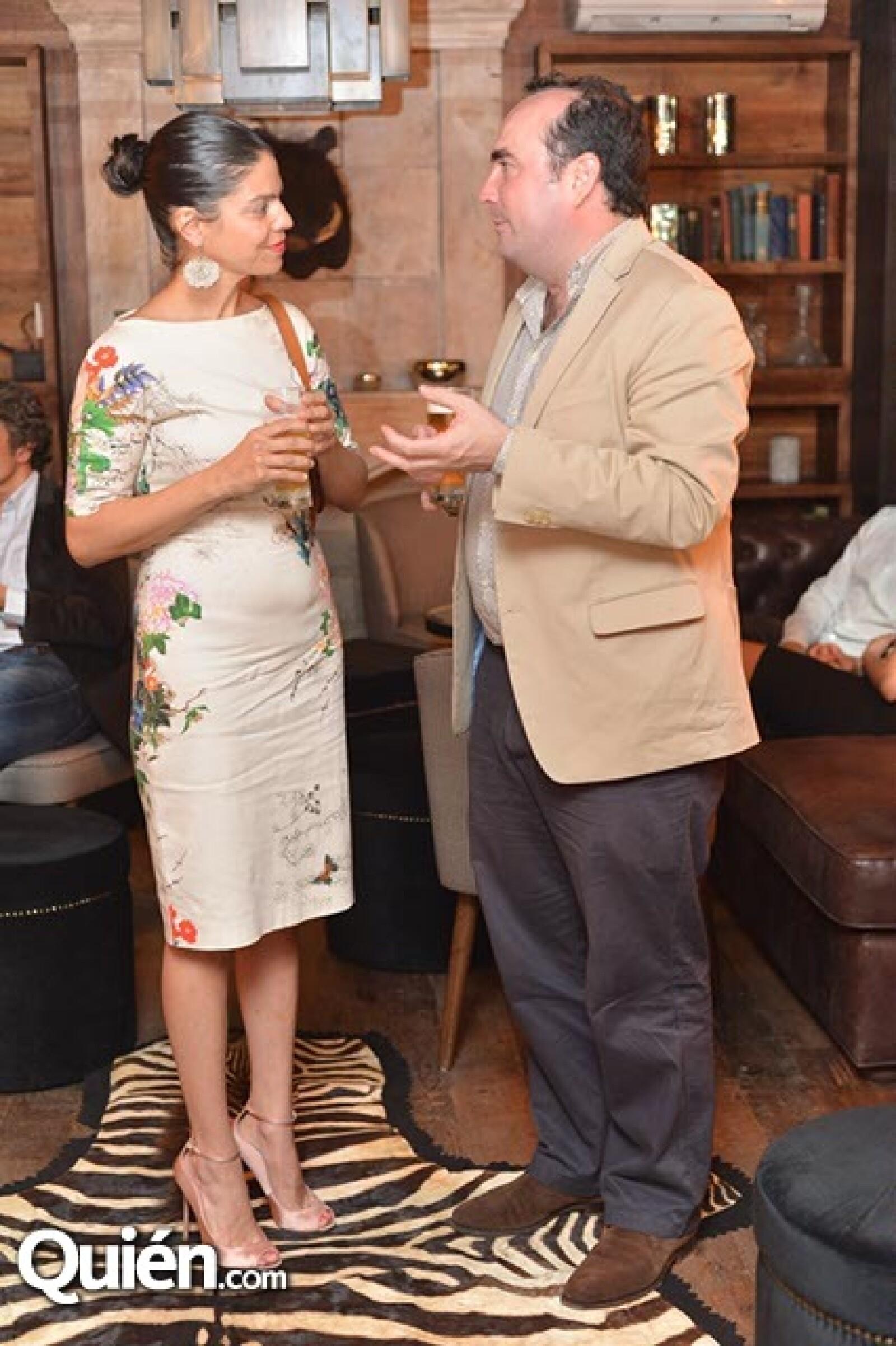 Marianna Duhart y Andrés Azpilicueta.