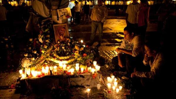 El cantante y compositor argentino fue asesinado ayer a tiros durante una emboscada perpetrada por varios desconocidos cuando se dirigía al aeropuerto internacional La Aurora, en el sur de la ciudad de Guatemala.