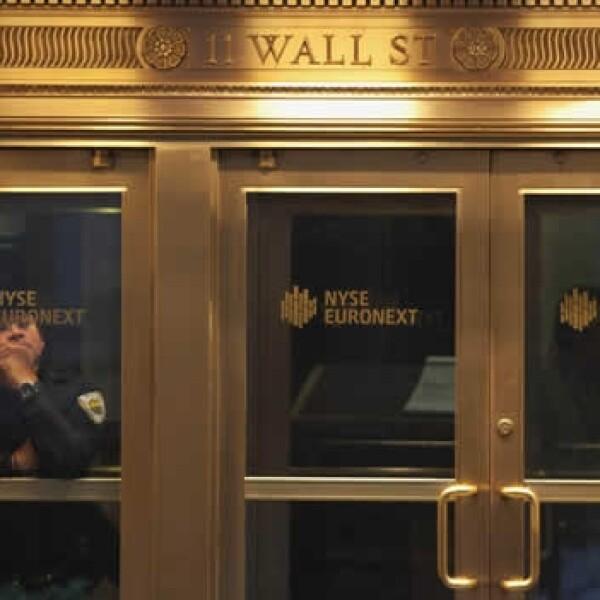 Bolsa de valores de Nueva York cerrada