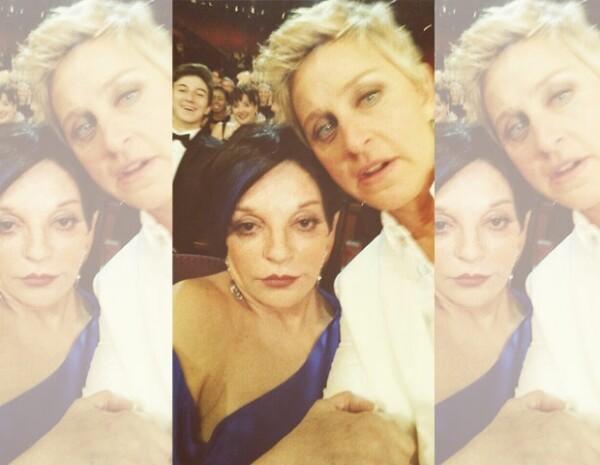 Liza Minnelli y Ellen DeGeneres