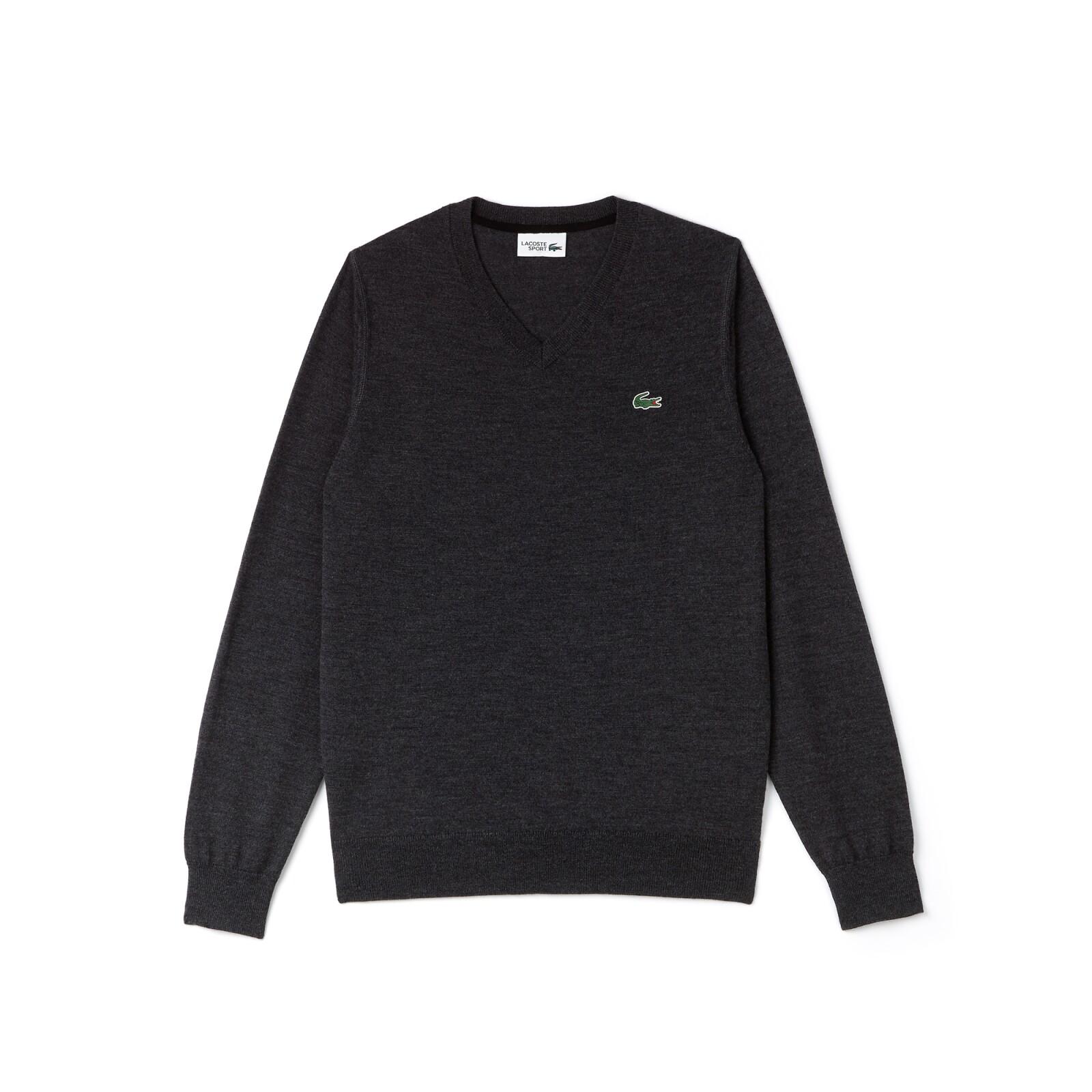 Suéter de punto en gris
