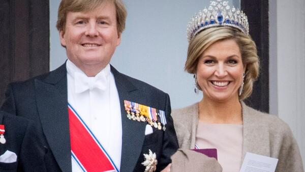 Los reyes Guillermo y Máxima de Holanda