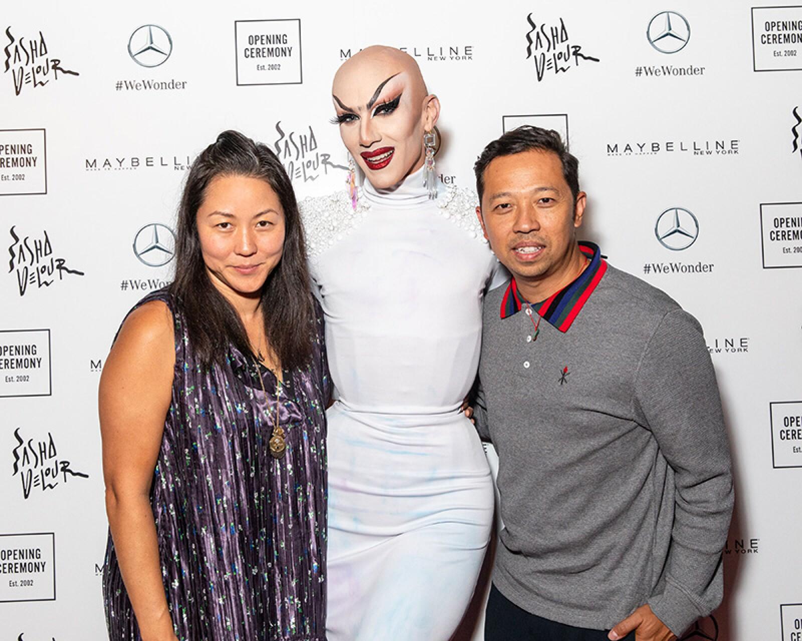 Opening Ceremony & Sasha Velour Present: 'The Gift of Showz' , Spring Summer 2019, New York Fashion Week, USA - 09 Sep 2018