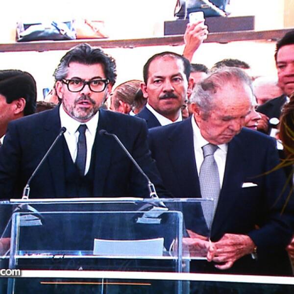 Carlos Salcido y Alberto Bailleres
