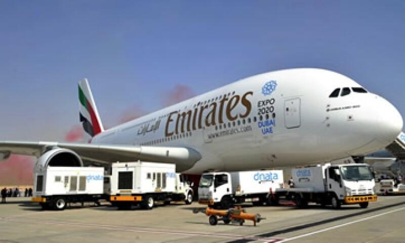 El avión con la mayor capacidad de pasajeros en el mundo volará de Dubai a Copenhague, informó Emirates  (Foto: Emirates Airline/Twitter )