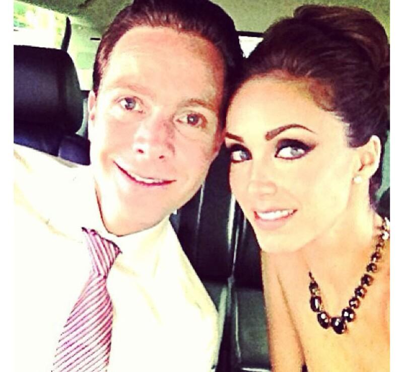 Manuel y Anahí llevan alrededor de un año de relación.