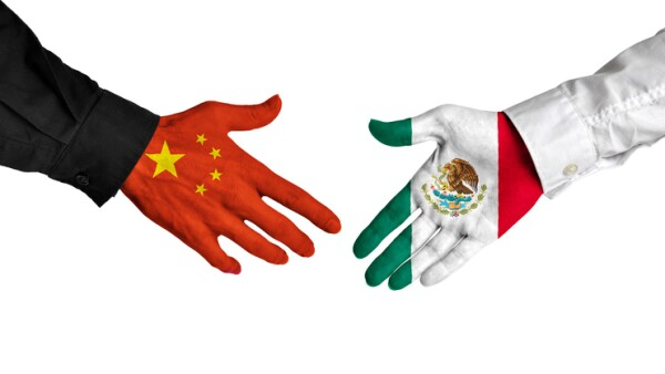 México y China