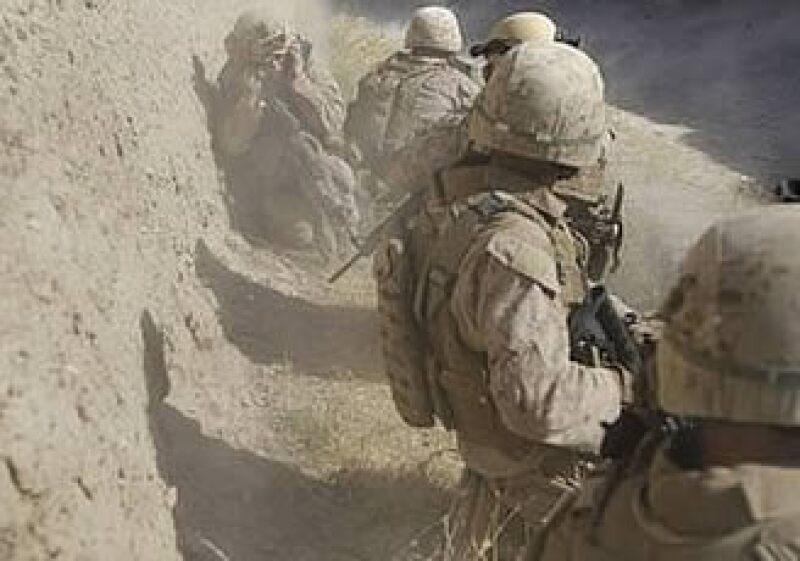 Marines estadounidenses llegaron al valle del río de Helmand para acabar con la insurgencia talibán. (Foto: AP)